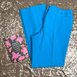 Calvin Klein Modern Fit Turquoise Pants
